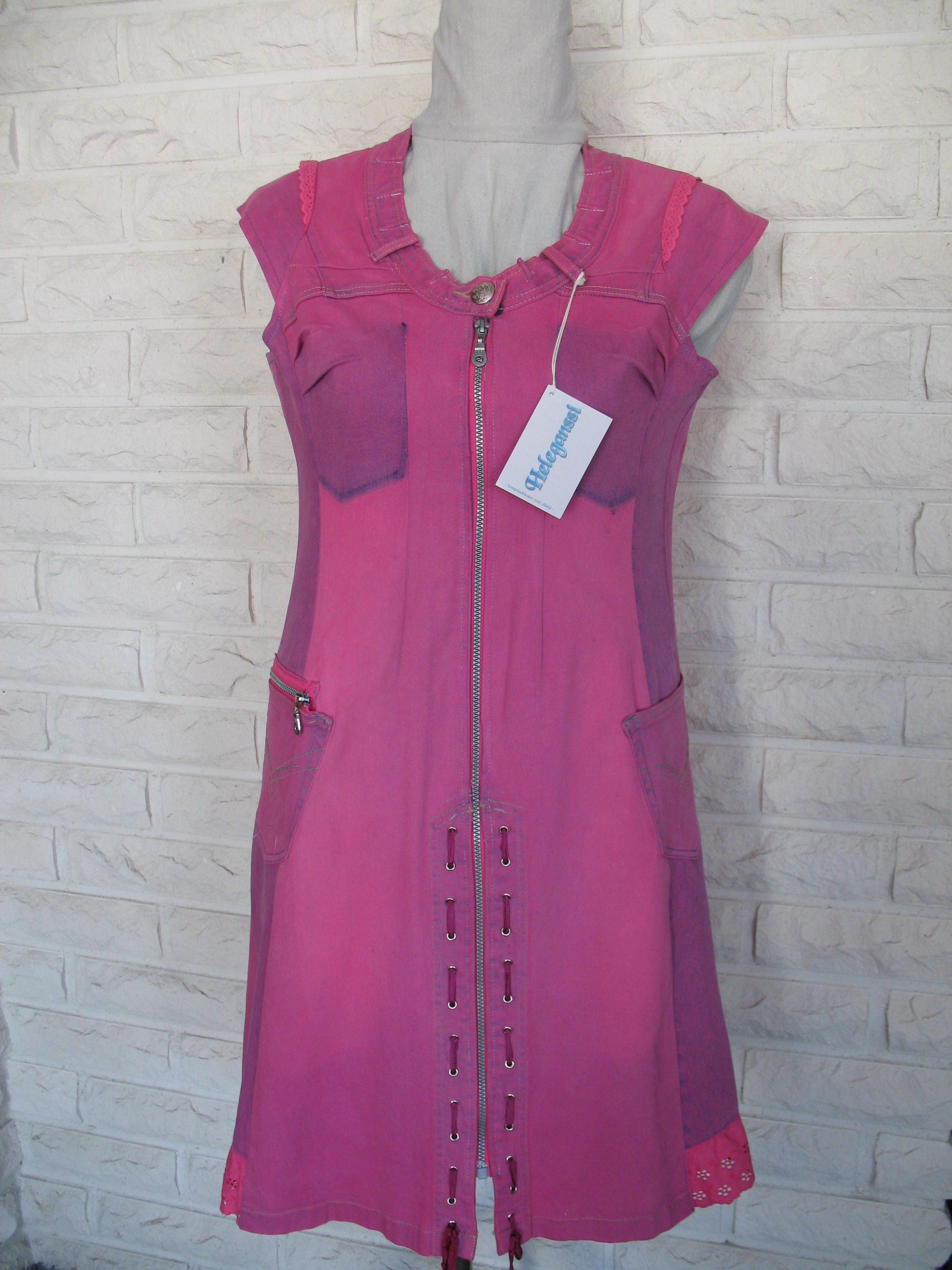 henni jernvall pinkki mekko etu